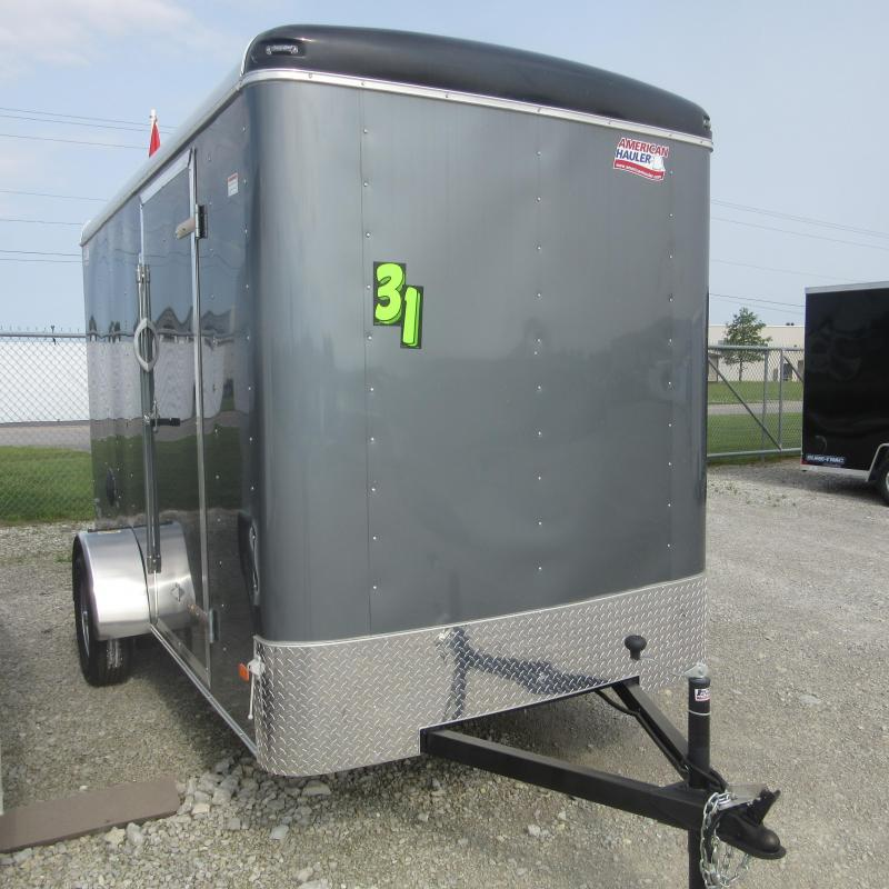 2019 American Hauler Industries ALC6X12 Enclosed Cargo Trailer