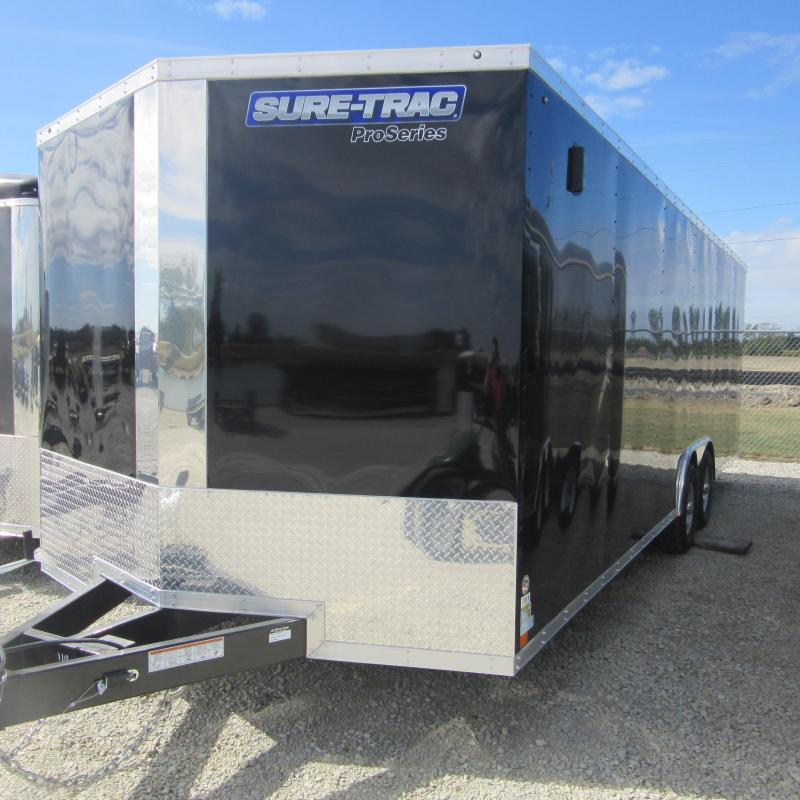 2018 Sure-Trac 8.5x24 Pro Series Wedge C. Hauler TA 10K