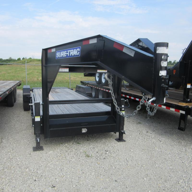 2018 Sure-Trac 7X18+4 TILT GN Equipment Trailer