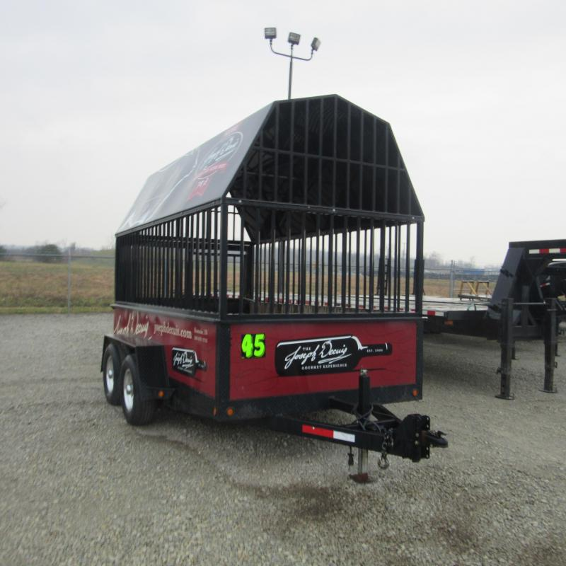 2007 Sure-Trac 5X10 HIGH SIDE Utility Trailer