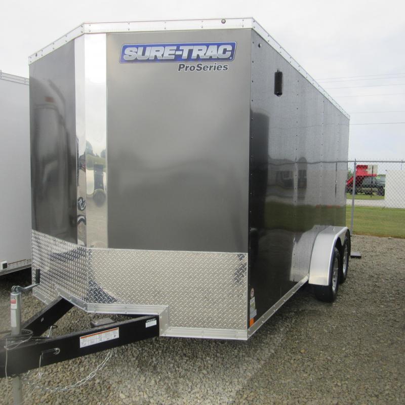 2017 Sure-Trac 7 x 14 Pro Series Wedge Cargo TA 7K