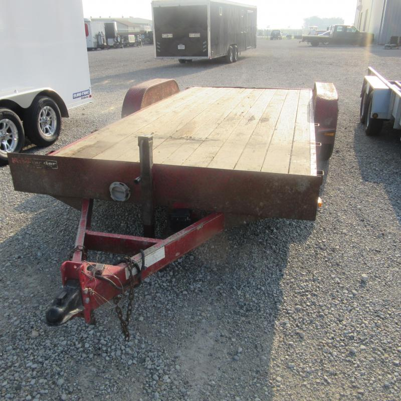 2006 Other 7x18 implement Equipment Trailer