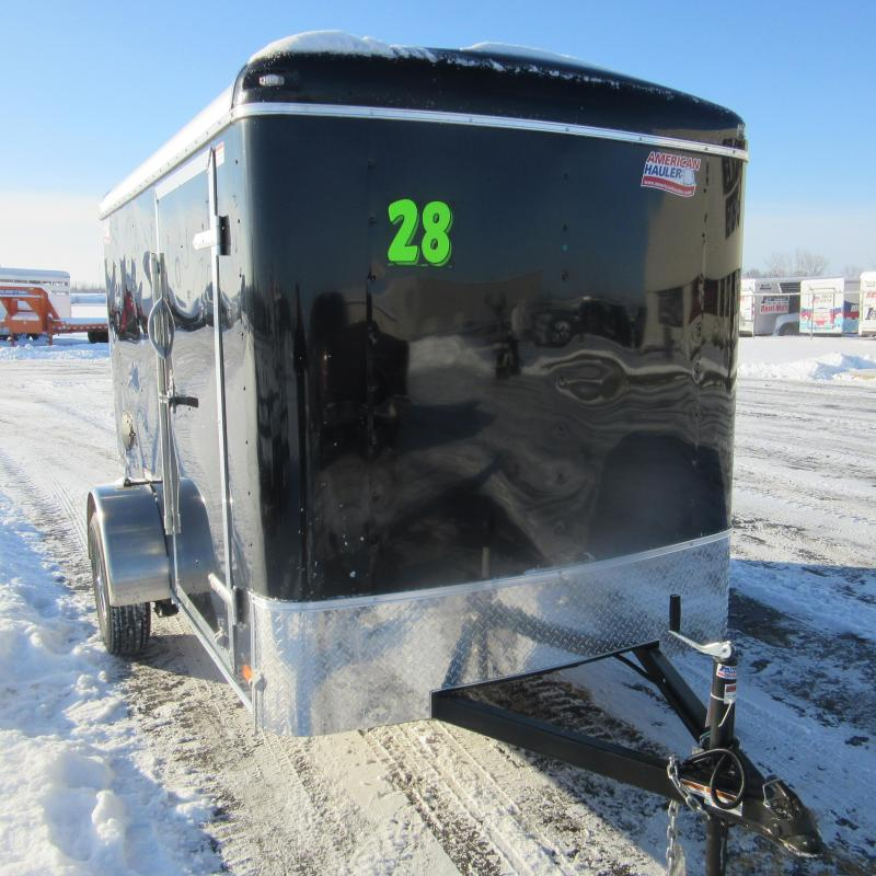 2018 American Hauler Industries 6x10 enclosed Enclosed Cargo Trailer