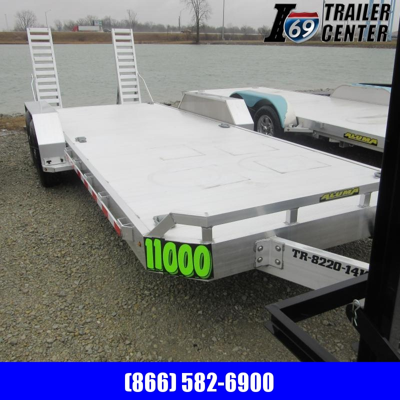 2018 Aluma TR-8220TK-14K Equipment Trailer