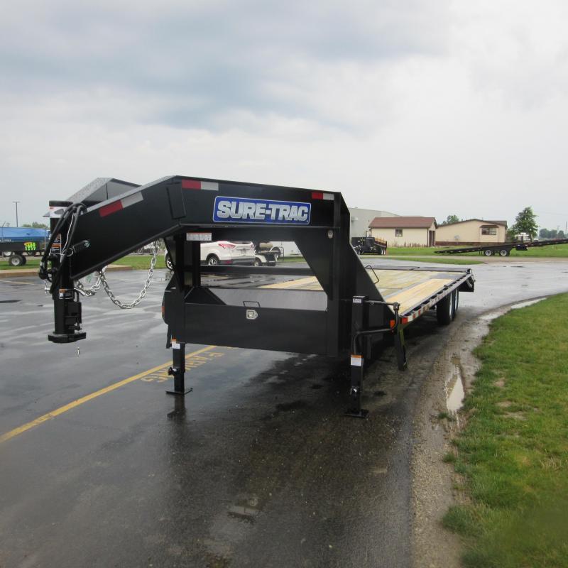 2018 Sure-Trac 8.5x255 deckover gn Flatbed Trailer