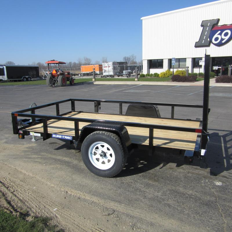 2017 Sure-Trac TUBE TOP UTILITY Utility Trailer