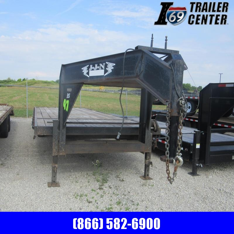 2008 Other 8X25 DECKOVER GN Flatbed Trailer