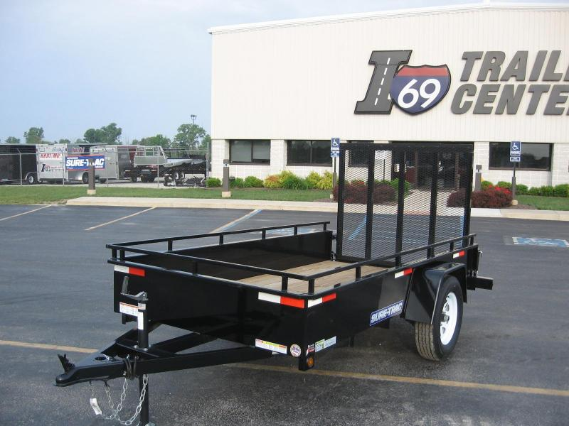 2018 Sure-Trac 6x10 high side Utility Trailer