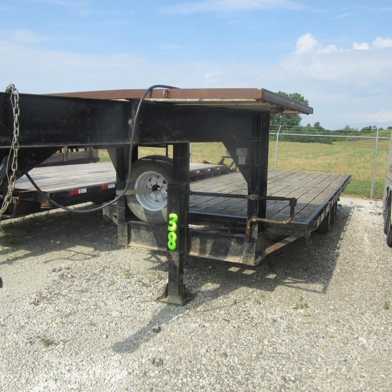 1977 Other 8X20 GN DECKOVER Flatbed Trailer