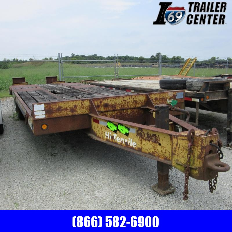 1993 Eager Beaver contractor Equipment Trailer
