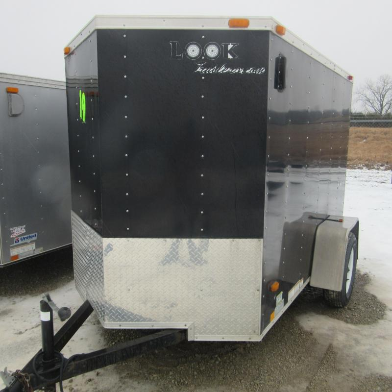 2011 Other 5X8 ENCLOSED TRAILER Enclosed Cargo Trailer