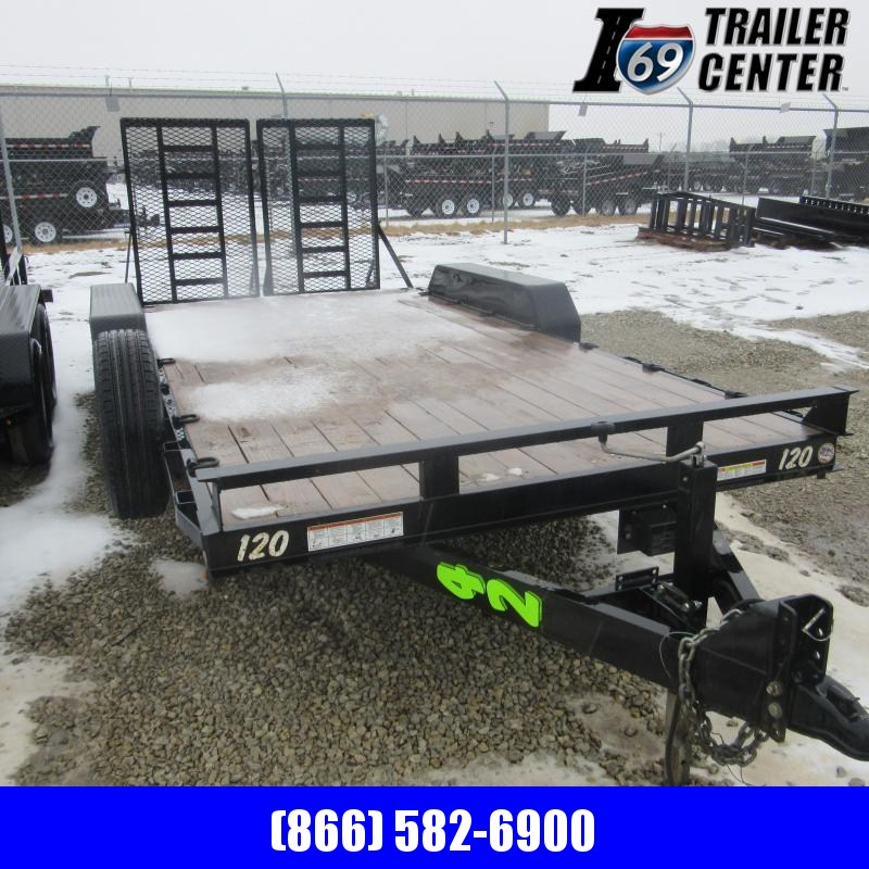 2018 Sure-Trac 7X16 IMPLEMENT TRAILER Equipment Trailer