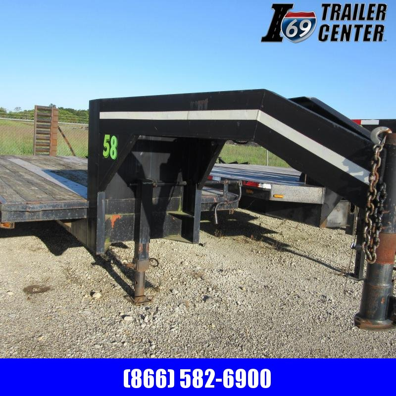 1986 Other 24k 20+5 deckover GN Equipment Trailer