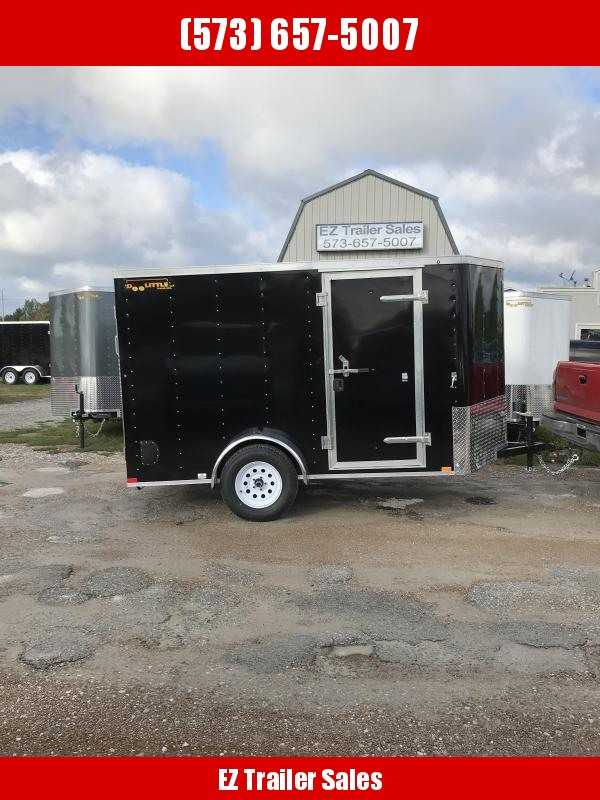 2019 Doolittle 6x10 Bullitt Cargo / Enclosed Trailer