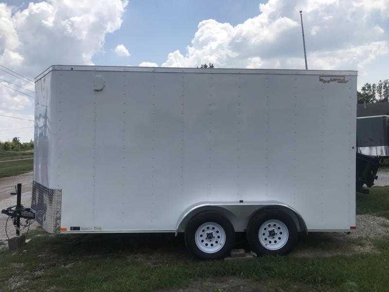 2019 7x14 Doolittle 7K Enclosed Cargo Trailer