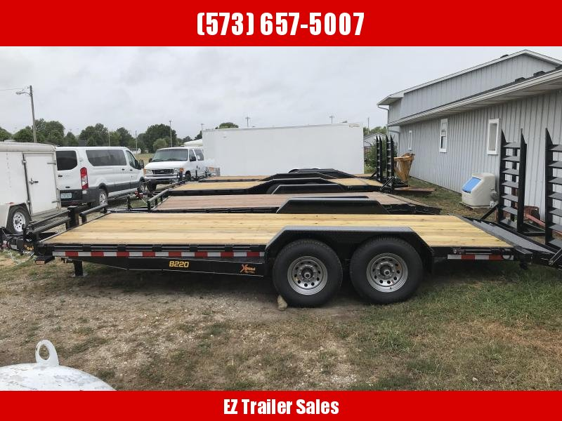 2018 Doolittle Trailer Mfg 82x20' Xtreme Equipment Trailer