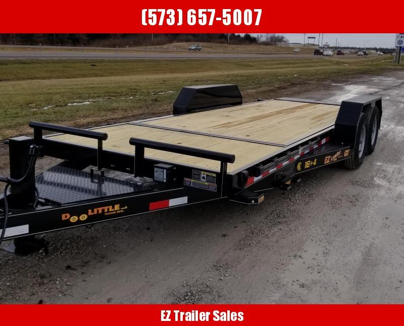2020 Doolittle Trailer Mfg 82x20 Equipment Trailer
