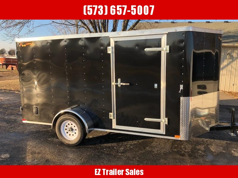 2019 Doolittle 6x12 Single Axle 3K Enclosed Cargo Trailer