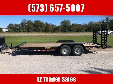 2020 Doolittle 82x20 CF 14K Equipment Trailer