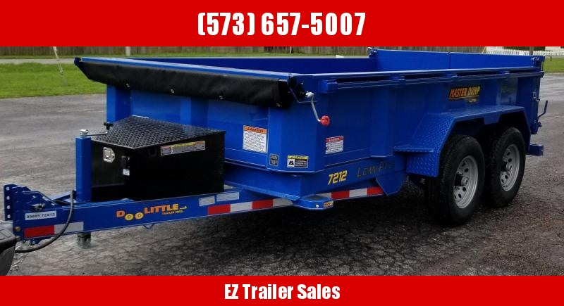 2020 DooLitttle Trailers 72x12 Dump Trailer