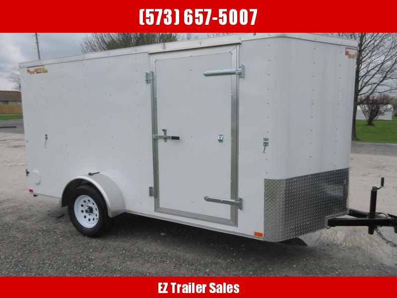 2019 Doolittle 6x12 Bullitt Cargo / Enclosed Trailer
