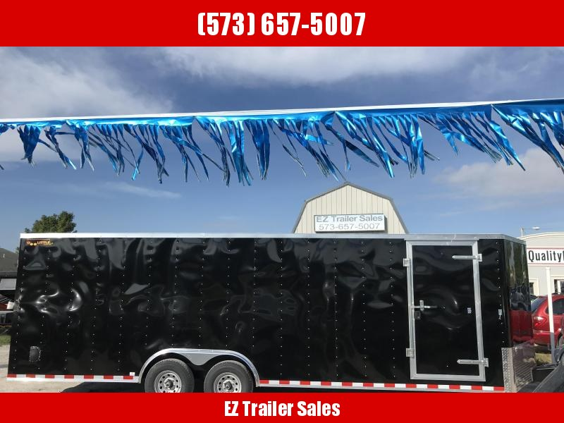 2018 Doolittle Trailer Mfg 8.5X24 10K Bullitt cargo Enclosed Cargo Trailer