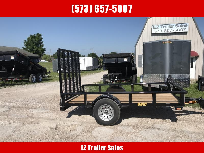 2018 Doolittle Trailer Mfg 66x10 UT Utility Trailer