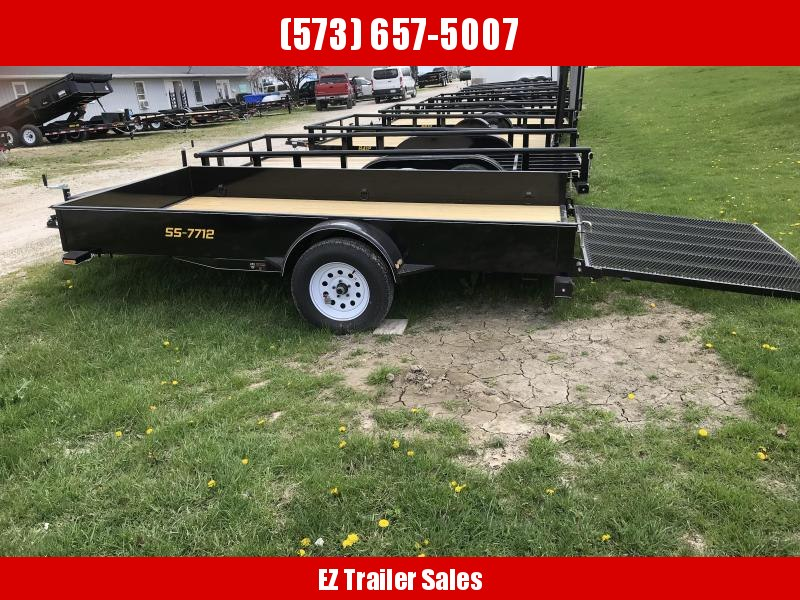 2018 Doolittle Trailer Mfg 77x12