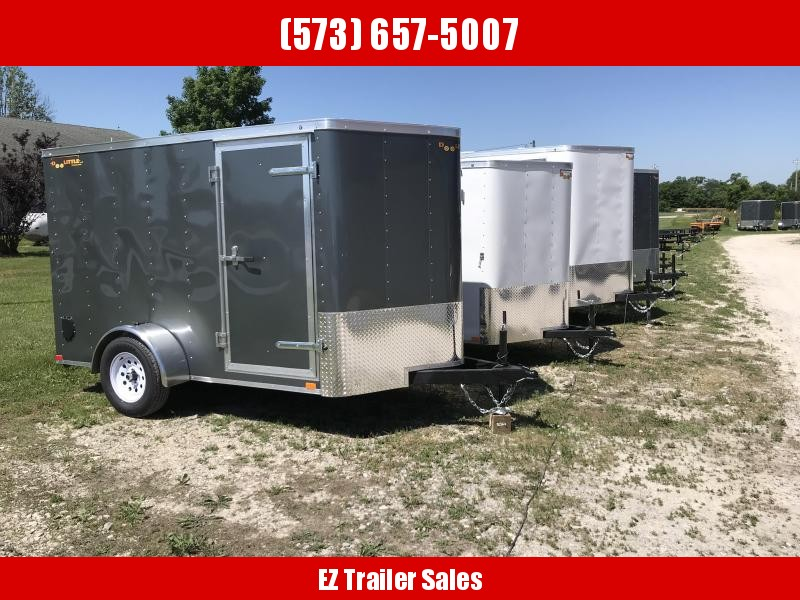 2018 Doolittle Trailer Mfg 6x10 Enclosed Cargo Trailer