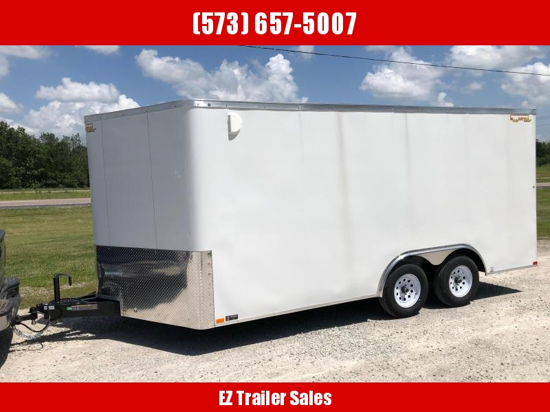2019 Doolittle Trailer Mfg 8.5x16 Enclosed Cargo Trailer