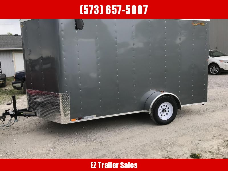 2019 Doolittle Trailer Mfg 7x12 Enclosed Cargo Trailer