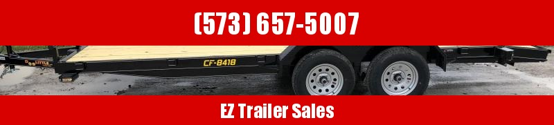 2020 DooLitttle Trailers 84x18 Equipment Trailer