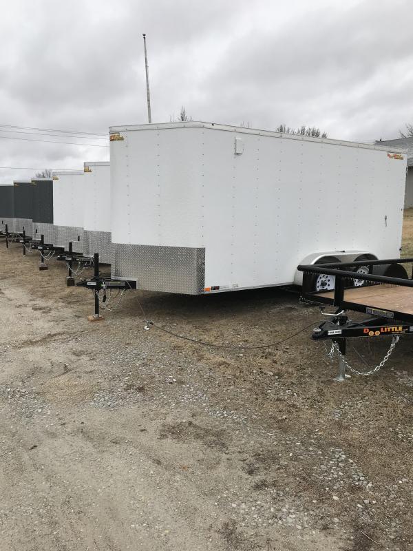 2018 Doolittle 7x14 Bullitt Cargo / Enclosed Trailer