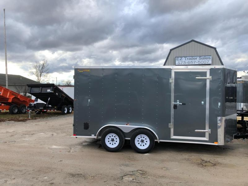 2019 Doolittle  7x14 Tandem Axle 7K Enclosed Cargo Trailer