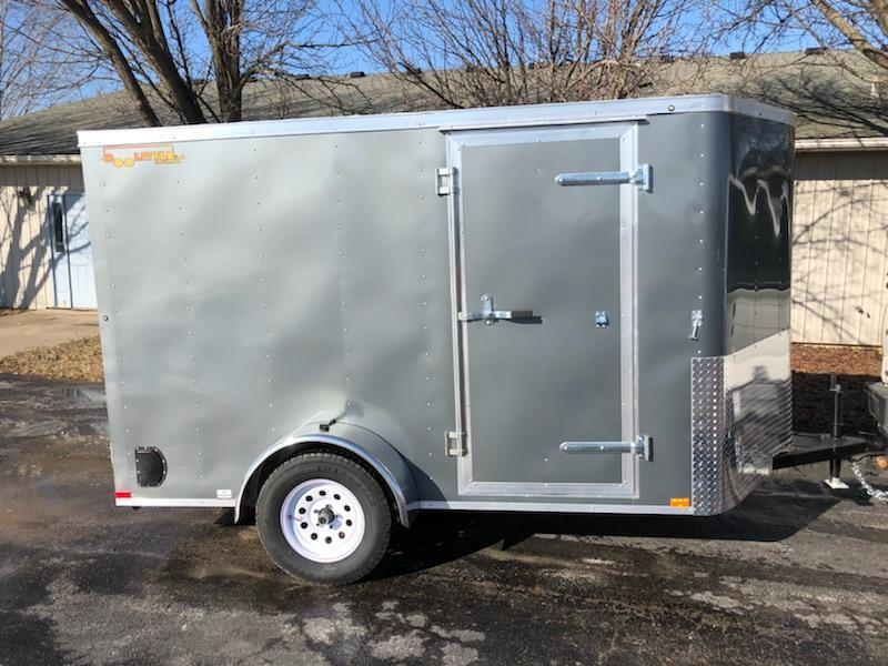 2019 Doolittle 6x10 Single Axle 3K Enclosed Cargo Trailer