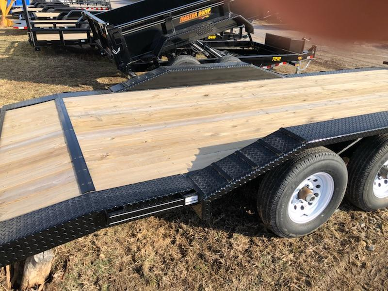 2019 Doolittle CF 102x20 10K Equipment Trailer