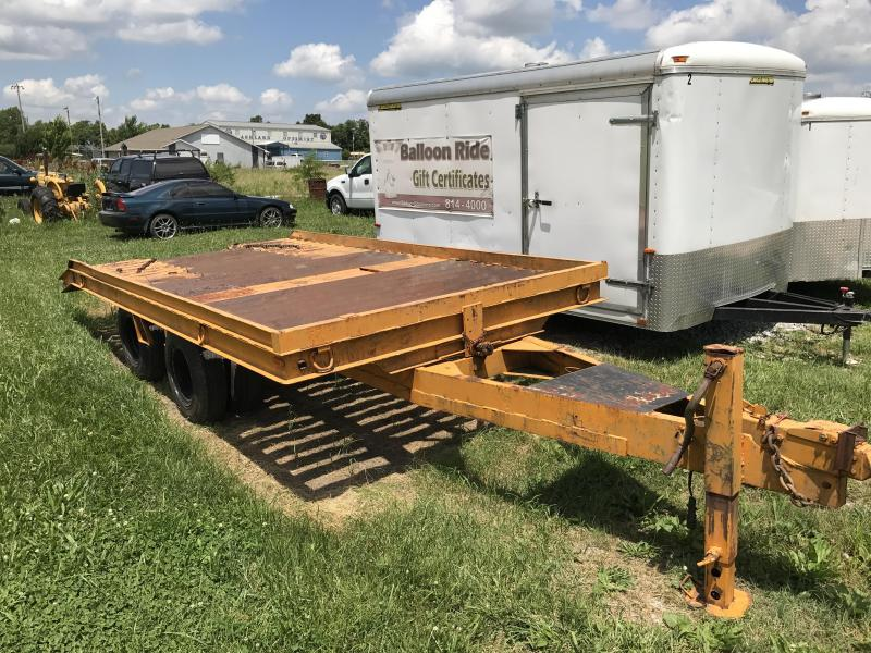 1987 Millennium Trailers Tilt Equipment Trailer