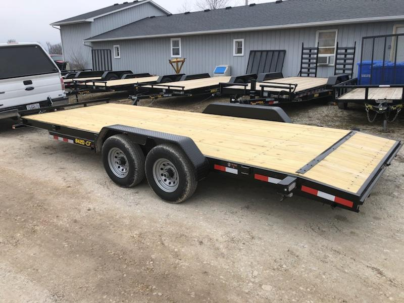 2019 Doolittle Channel Flat Bed 84x20 10K