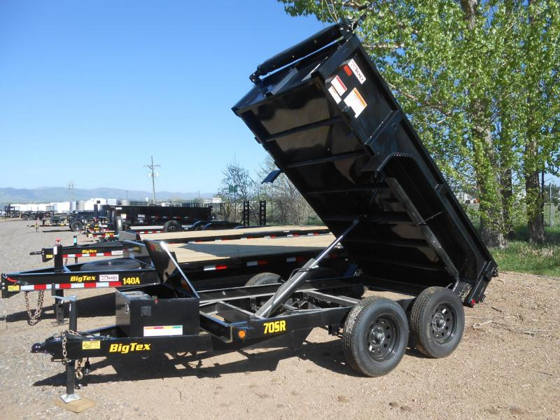 2020 Big Tex Trailers 70SR-10-5WDD Dump Trailer