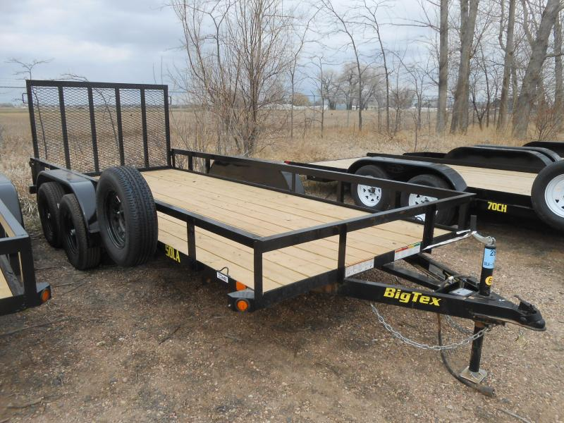 2019 Big Tex Trailers 50LA-16 Utility Trailer
