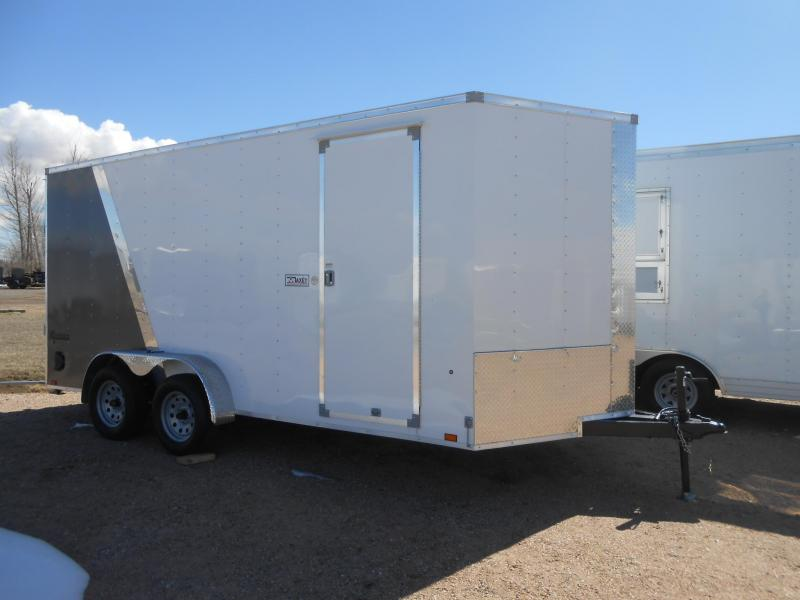 2020 Cargo Express XLW7X16TE2-RD Enclosed Cargo Trailer