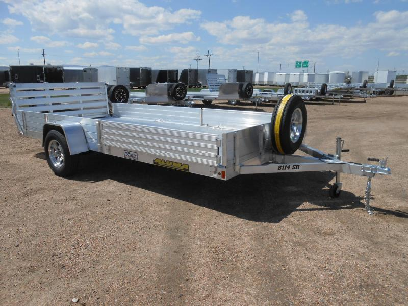 2021 Aluma 8114S-R-BT-SR All Aluminum Utility / ATV / UTV Trailer