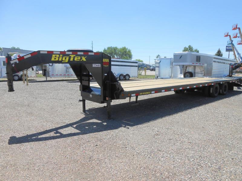 2020 Big Tex 22GN-28+5MR Gooseneck Flatbed Trailer w/ MEGA RAMPS
