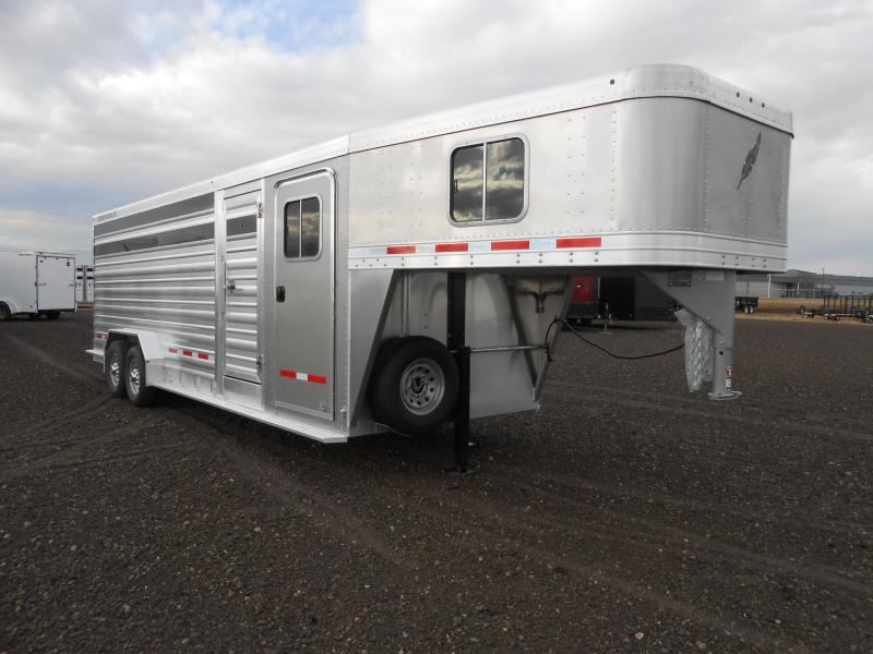 2019 Featherlite 8413-24 Livestock Trailer