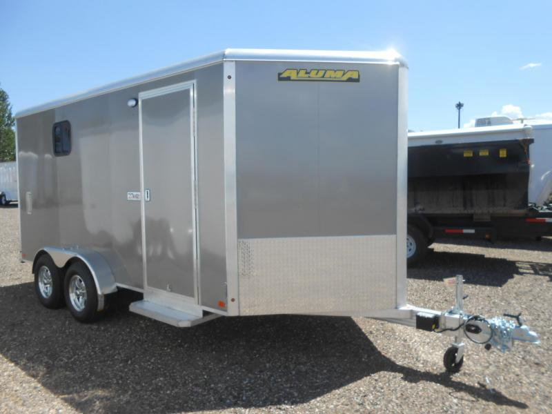 2020 Aluma AE714TAR All Aluminum Enclosed Cargo Trailer