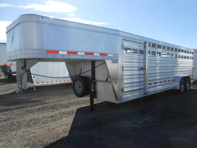 Eby livestock trailer options