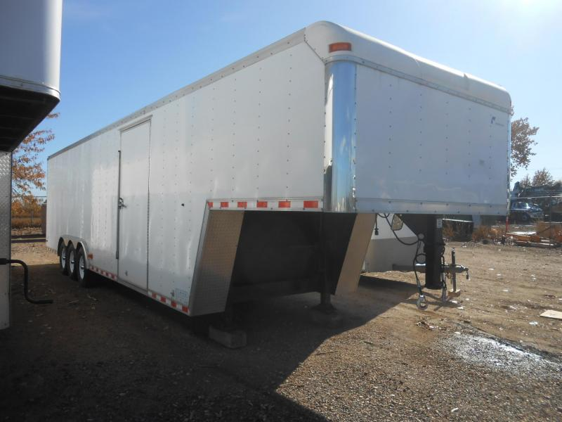 1999 Pace American 28FT Gooseneck Enclosed Car / Racing Trailer