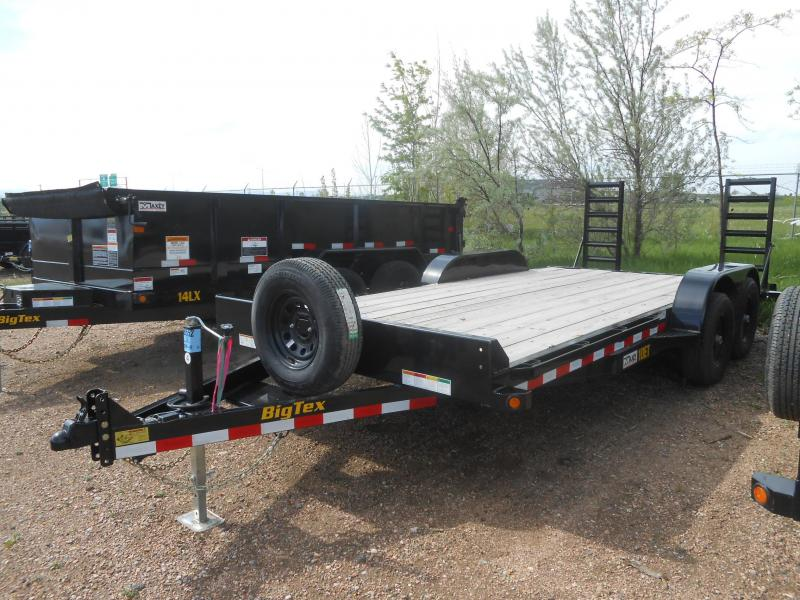 2020 Big Tex Trailers 10ET-18KR Equipment Trailer