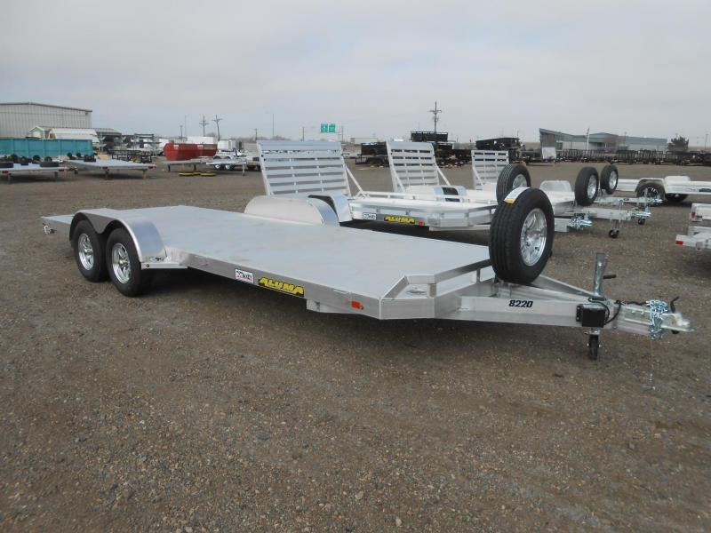 2020 Aluma 8220 All Aluminum Car / Racing Trailer