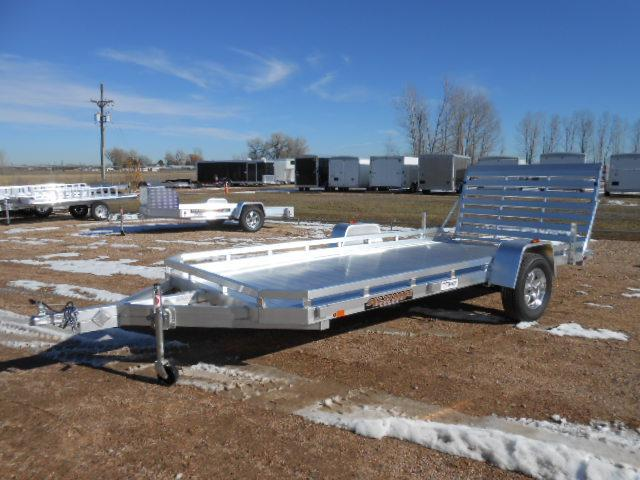 2019 Aluma 7814ST All Aluminum Utility Trailer